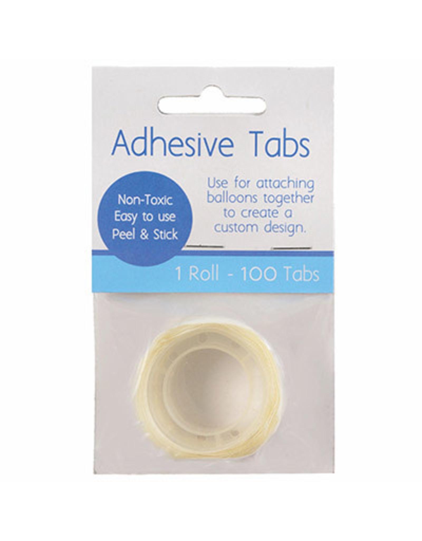 Amscan Adhesive Balloon Tabs - 100ct.