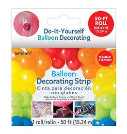 Amscan Balloon Decorating Strip - 50ft.
