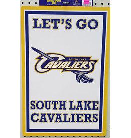Beistle South Lake School Spirit Sign - 1ct.