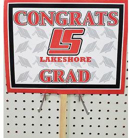 Beistle Lake Shore Grad Lawn Sign