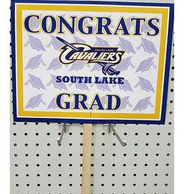 Beistle South Lake Grad Lawn Sign