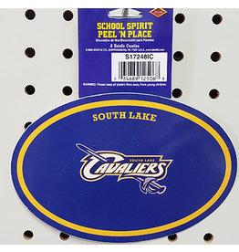 "Beistle South Lake Peel N"" Stick Sticker - 1ct."