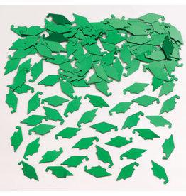 creative converting Green Mortarboard Confetti