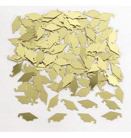 creative converting Gold Mortarboard Confetti