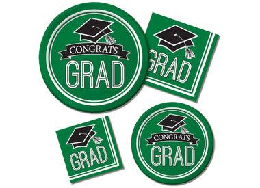 Green Graduation Supplies
