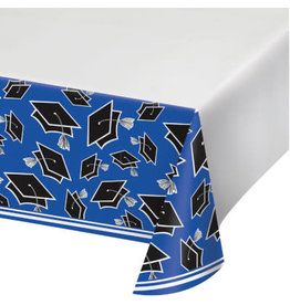 "creative converting Blue Grad Tablecover 54"" x 102"""