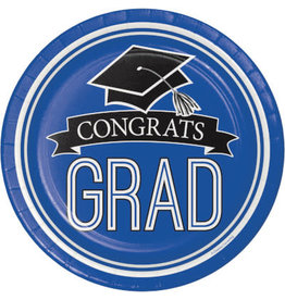 "creative converting Blue Grad 7"" Plates - 18ct."