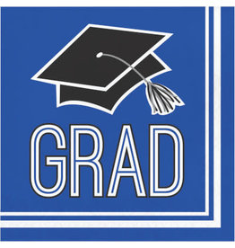 creative converting Blue Grad Lunch Napkin - 36ct.