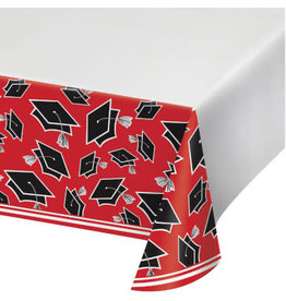 """creative converting Red Grad Tablecover 54"""" x 102"""""""