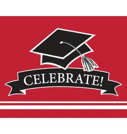 creative converting Red Grad Invites - 25ct.