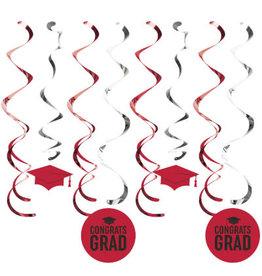 creative converting Red Grad Danglers - 12ct.