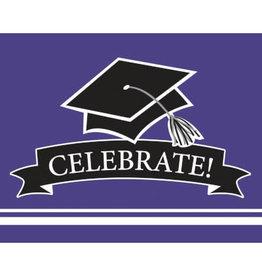 creative converting Purple Grad Invites - 25ct.