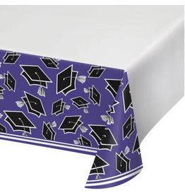 "creative converting Purple Grad Tablecover - 54""  x 102"""