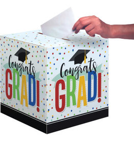 "creative converting Colorful Grad Card Box - 12"" x 12"""