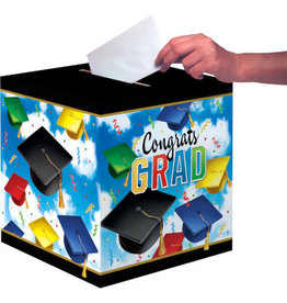 "creative converting Congrats Grad Card Box - 12"" x 12"""