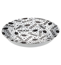 Amscan White Grad Serving Bowl - 14""