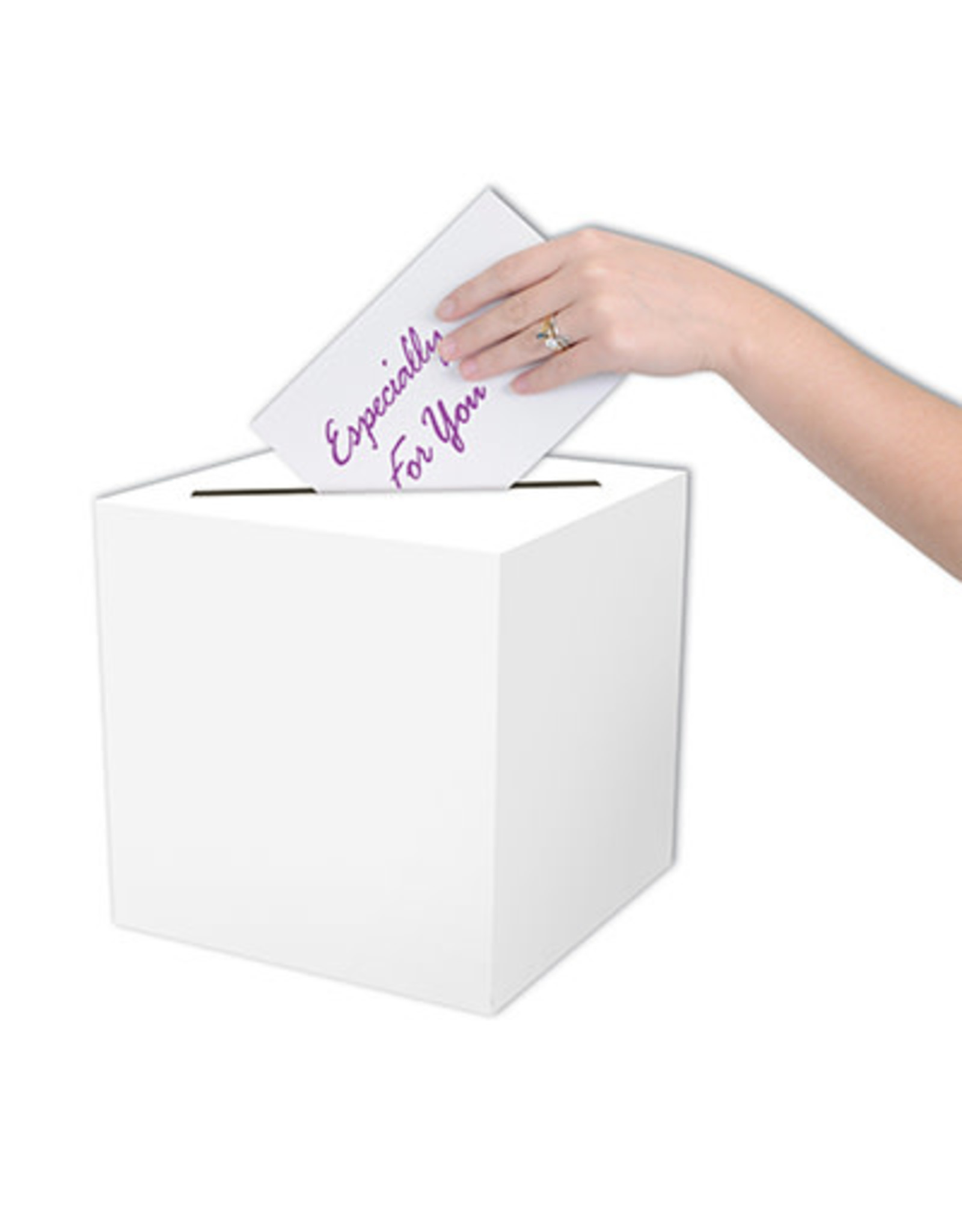 "Beistle All-Purpose Card Box - 9"" x 9"""