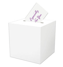 "Beistle All-Purpose  Receiving-Box - 12"" x 12"""