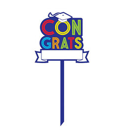 Amscan Congrats Grad Personalized Lawn Sign