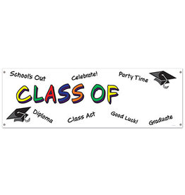 Beistle Class Of  'Add Year' Banner - 5ft.