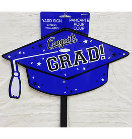Amscan Blue Grad Lawn Sign
