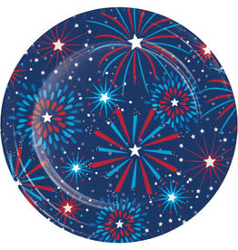 "creative converting Fireworks 9 ""Plates - 8ct."