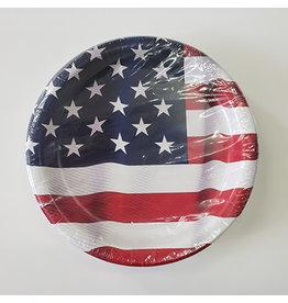 "creative converting American Valor 9"" Plates - 45ct."