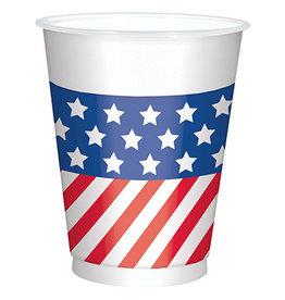 Amscan Patriotic 16oz Cups - 25ct.