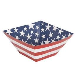 """unique Patriotic Snack Bowl - 10"""" x 10"""""""