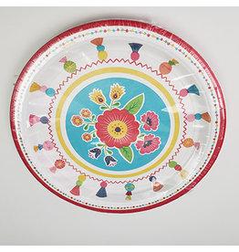 "Amscan Fiesta Time 10"" Plates - 8ct."