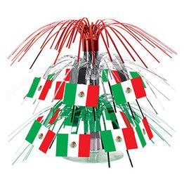 Beistle Mexican Flag Mini Cascade Centerpiece