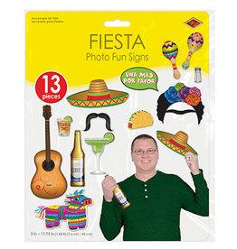 Beistle Fiesta Photo Fun Signs - 13ct.