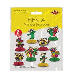 Beistle Fiesta Mini Centerpieces - 8ct.