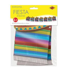 Beistle Fiesta Hat Banner - 6ft.