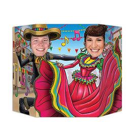 Beistle Mexican Folk Dancing Photo Prop