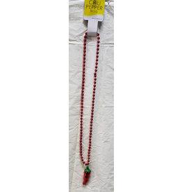 Beistle Beads w/ Chili Pepper Medallion - 1ct.
