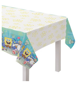 "Amscan SpongeBob Tablecover - 54"" x 96"""