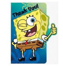 Amscan SpongeBob Thankyous - 8ct.