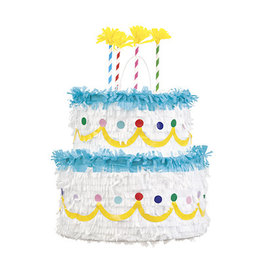 unique Birthday Cake Pull Pinata