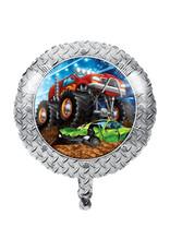 "creative converting 18"" Monster Truck Rally Mylar Balloon"