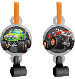 creative converting Monster Truck Rally Blow Outs - 8ct.