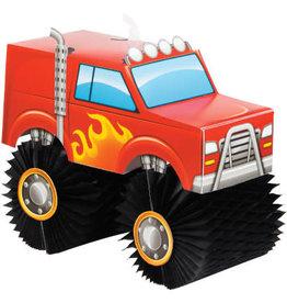 creative converting Monster Truck Rally 3D Centerpiece