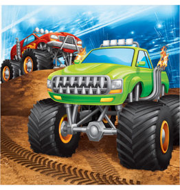 creative converting Monster Truck Rally Lun. Napkins - 16ct.