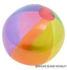 "RHODE ISLAND NOVELTY 16"" Rainbow Beach Ball - 1ct."