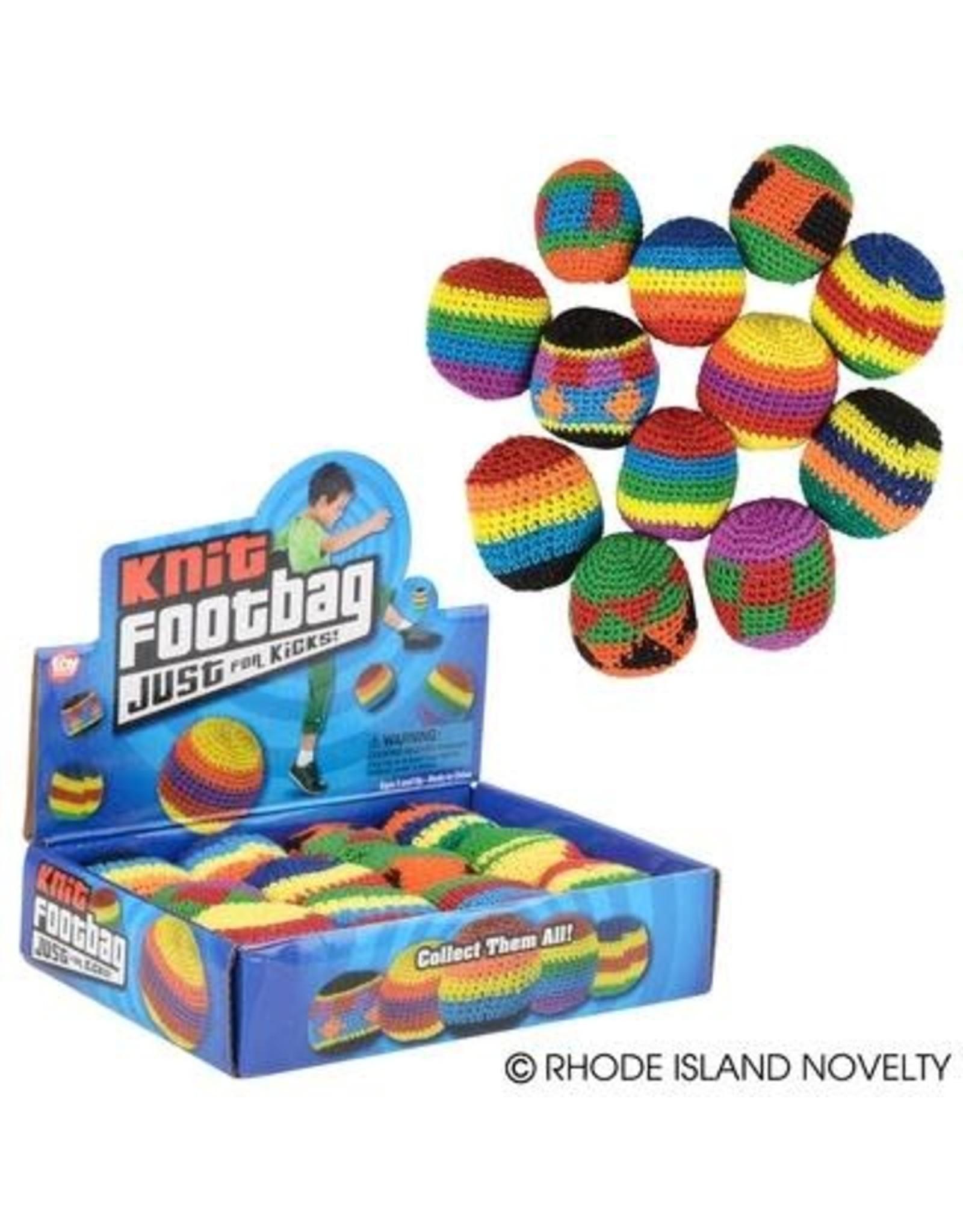 "RHODE ISLAND NOVELTY 2"" Knit Footbag - 1ct."