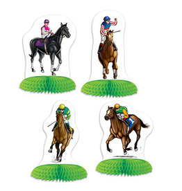 Beistle Horse Racing Mini Centerpieces - 4ct.
