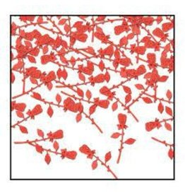 Beistle Rose Stem Confetti
