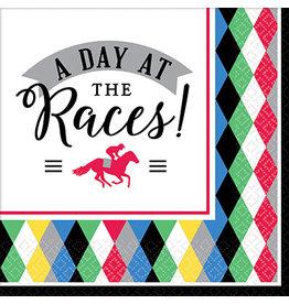 Amscan Derby Day Bev. Napkins - 16ct.