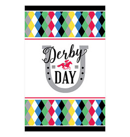 "Amscan Derby Day Tablecover - 54"" x 102"""