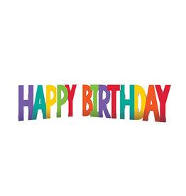 Amscan Happy Birthday Lawn Signs - Multi Color